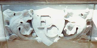 Stone carved Emblem and more services