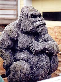 gorilla art sculpture picture